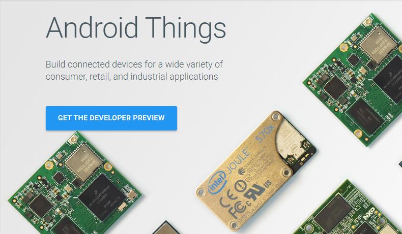 Google lanza un SDK para internet de las cosas, Android Things